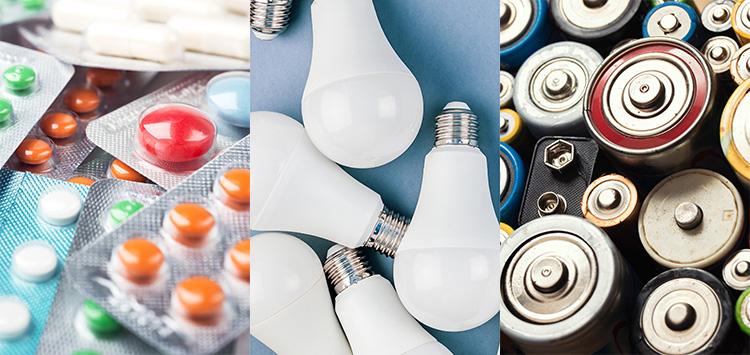 Sondermüll: Medikamente, Energiesparlampen und Batterien ®Adobe Stock